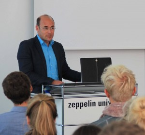 Dr. Georg Eysel-Zahl, VRD Stiftung, Referent beim Energieforum in Friedrichshafen