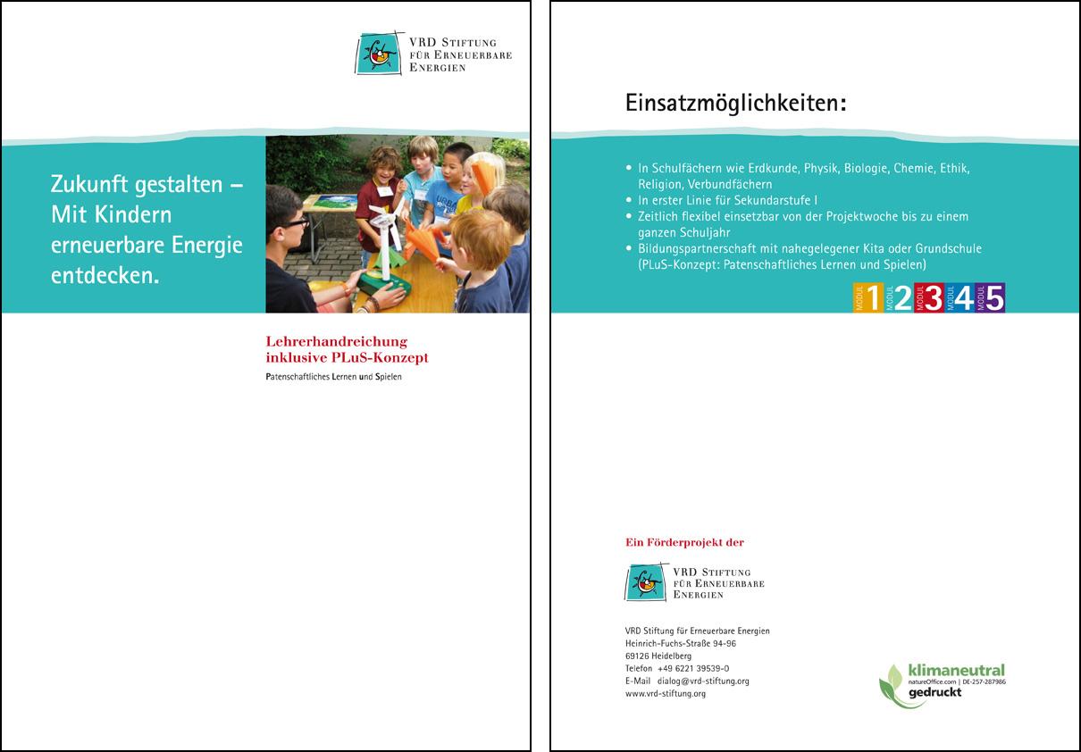 Zukunft gestalten - VRD Stiftung für Erneuerbare Energien