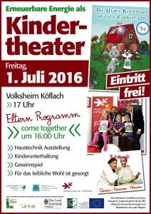 Plakat-Kindertheater
